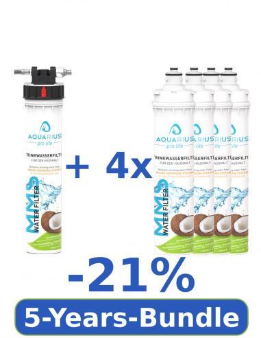 5-year bundle MMS water filter (-21%)