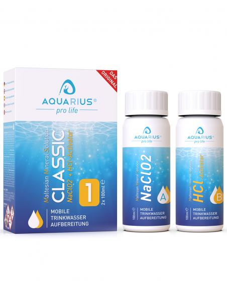 MMS CLASSIC Chlordioxidlösung Chlordioxid 2x100ml AQUARIUS pro life